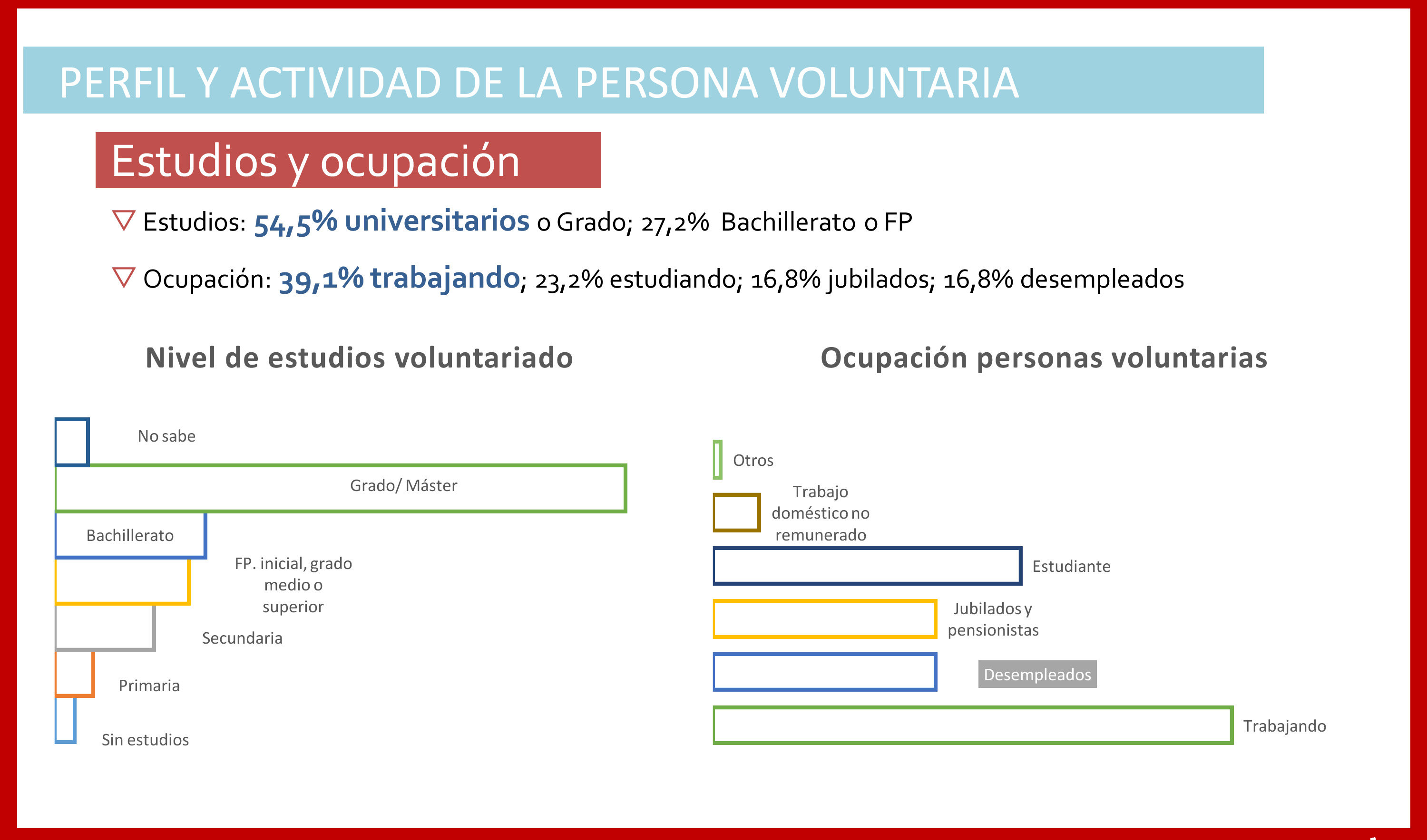 perfil_voluntariado_madrid_persona voluntaria ocupacion